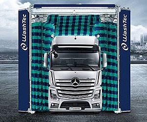 Myjnia samochodów ciężarowych iautobusów MaxiWash Vario