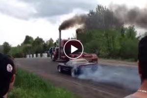 Czy ciężarówka może przyspieszać lepiej niż sportowe auto? Oczywiście!
