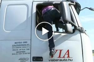 Wybredni imigranci wybierają ciężarówkę do włamania się [FILM]