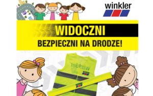 """""""Widoczni – Bezpieczni na drodze"""" – akcja społeczna Winkler Polska"""