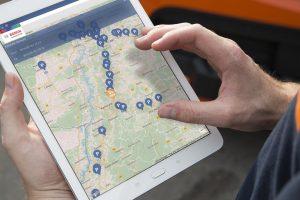 Bezpieczny parking dla ciężarówek dzięki technologii Bosch