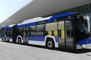 20 elektrycznych autobusów pojedzie do Krakowa