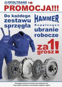 Sprzęgła Hammer German Quality - promocja wOPOLTRANS