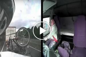 Polski kierowca ciężarówki powoduje śmiertelny wpadek przez zabawę komórką