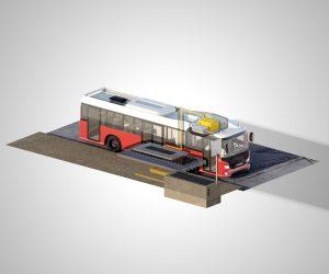 Scania testuje w ruchu miejskim szybkie ładowanie bezprzewodowe