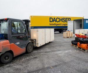 Pilna antarktyczna przesyłka w rękach Dachsera