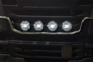 Światło drogowe LED ze światłem pozycyjnym LED od WESEM