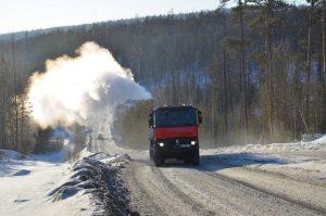 Renault Trucks K przetestowane na Syberii