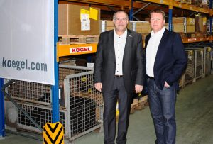 Nowe centrum logistyczne Kögel