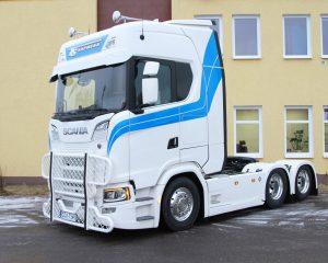 Scania S730 trafia do klienta w Pile