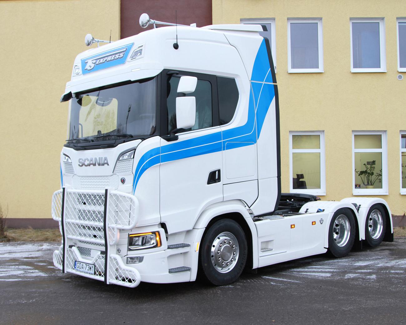 Scania S730 trafia do klienta w Pile - TruckFocus.pl