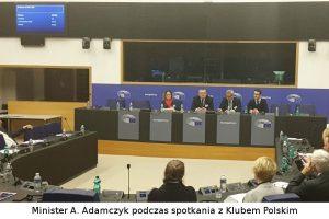 Ministerstwo rozmawia o transporcie z posłami Parlamentu Europejskiego