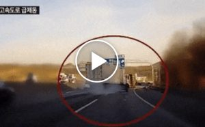 Szczęście czy umiejętności? Zobacz niezwykły przypadek kierowcy ciężarówki.