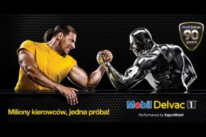 Mobil Delvac Strong Traker na Poznań Motor Show Truck