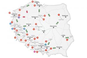 Nowe stacje przy zachodniej granicy Polski w sieci DKV