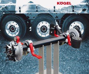Oś naczepowa Kögel standardem wwielu naczepach tej marki