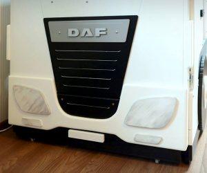 DAF XF6 w sypialni