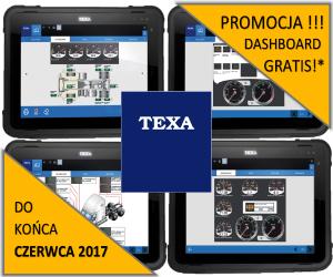 Funkcja DASHBOARD w gratisie w ramach promocji TEXA
