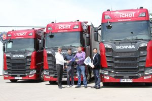 Nowa Scania we flocie Wichot