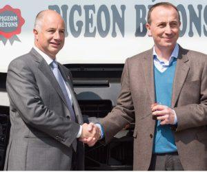800-tysięczna ciężarówka Renault przekazana Grupie Pigeon