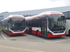 Autobusy hybrydowe Volvo dla Sosnowca
