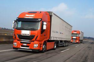 Serwisy Iveco Truck Station przy arteriach komunikacyjnych Europy