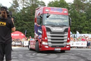 Scania S500 z tytułem Master Truck of the Year 2017