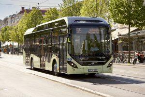 Elektryczne Volvo w polskich miastach