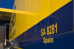 Dachser Poznań dostarcza coraz więcej do Hiszpanii