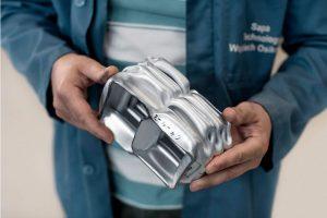 Aluminiowe podzespoły samochodów ciężarowych