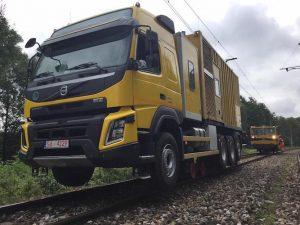 Volvo Trucks, KZESO i Copma prezentują nowy pojazd dwudrogowy