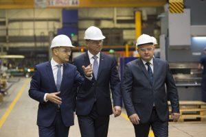 Prezydent RP odwiedził siedzibę firmy Wielton S.A. w Wieluniu