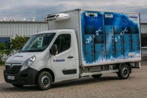 Dwukomorowa izoterma – Democar firmy Webasto