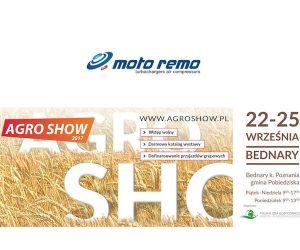MotoRemo na Targach Agro Show 2017