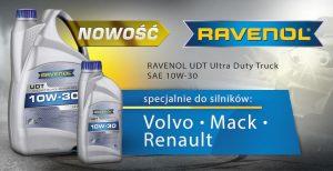 Nowość od Ravenol – UDT Ultra Duty Truck 10W-30