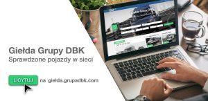 Grupa DBK wprowadza giełdę motoryzacyjną