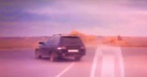 Kierowca Łady zmiażdżony przez dwie ciężarówki