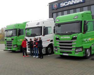 Scania nowej generacji we flocie Dalubo