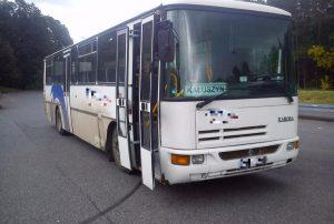 Pijany kierowca autobusu przewoził dzieci do szkoły