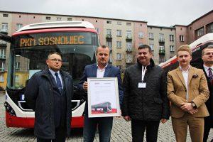Największa flota autobusów hybrydowych Volvo wjechała do Sosnowca