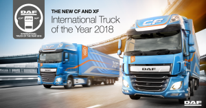 DAF z tytułem Truck of the Year 2018