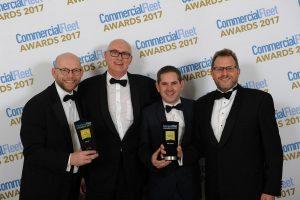 DAF zdobywa dwie nagrody w kategorii flot komercyjnych