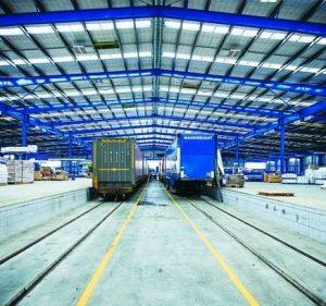 Centrum logistyczne Grupy Mainfreight w Belgii