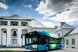 Autobus elektryczny Solaris z nagrodą od Busplanera