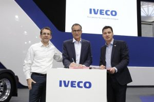 Współpraca IVECO z Transports Jacky Perrenot