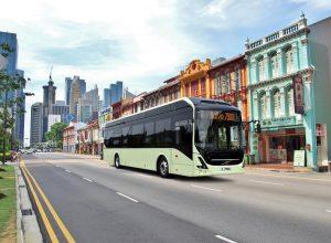 Volvo i NTU przetestują autonomiczne autobusy o napędzie elektrycznym