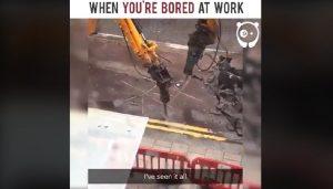 Sposób na nudę w pracy