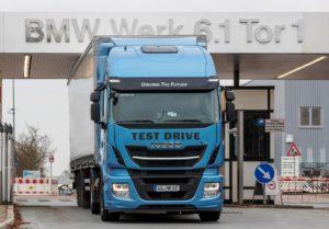 BMW testuje technologię LNG Iveco