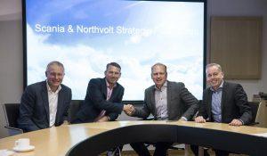Współpraca Scania i Northvolt nad elektryfikacją ciężkich pojazdów