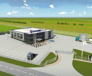 Serwis Scania Częstochowa w nowej lokalizacji
